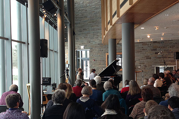 Special concert in the Visitor Center