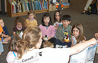 Adelson Library book readings for children